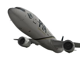 Boeing 777-200LR Pakistan Airlines 3D model