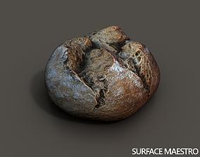 3D asset Bread roll