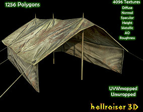 3D model Military Tent - 2 - Textured