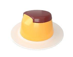 3D asset Pudding v2 002