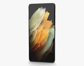 3D Samsung Galaxy S21 Ultra 5G Phantom Silver