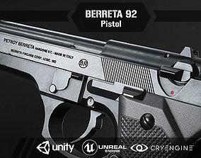 Berreta 92 3D model