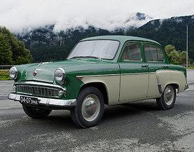 3D model MZMA Moskvitch-407 1962 other