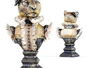 3D printable model Madame Leopard