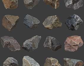 Stones Pack Volume 2 3D model low-poly