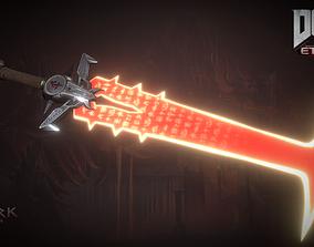 3D model The crucible Blade of doom