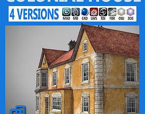 3D asset Realistic Old Building