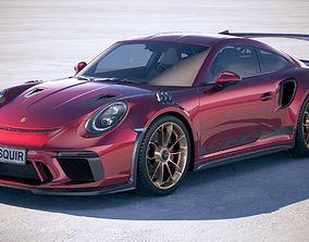 3D model Porsche 911 GT3 RS 2019