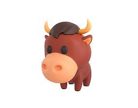 3D Character050 Bull