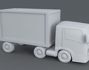 3D model Toon Truck