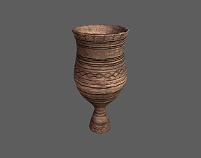 3D asset Ethnic Vessel - Vase