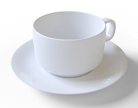 3D asset Coffee cup
