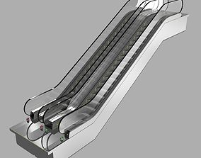 Escalator KONE Travelmaster 110 3D Model