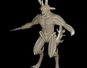 Blade creature monster 3D model