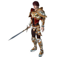 animated 3Dfoin - Royal Knight