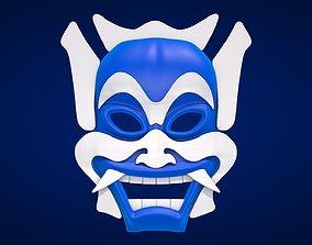 Mask - The Blue Spirit 3D asset