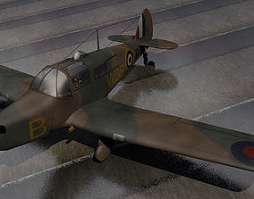 3D Percival Proctor wwii