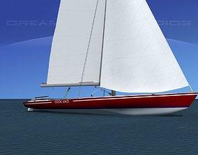 3D model Buccaneer 18 V12