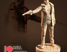 3D printable model Chris Redfield