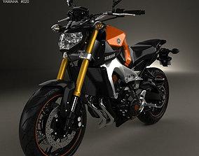 3D model Yamaha MT-09 2014