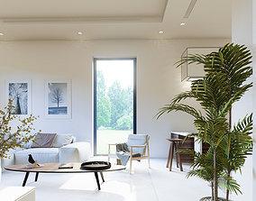 Modern House Interior Animation - Lumion 9 3D model
