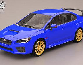3D model Subaru WRX