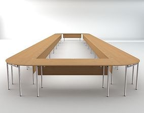 3D model Long Conference Table