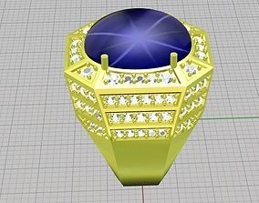 Diamond ring owan 3D printable model