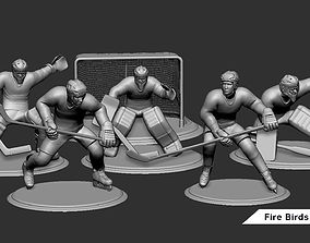 3D printable model Ice Hockey Player Goalie Collection 5