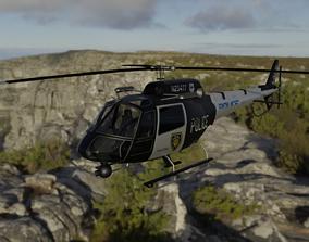 Police Helecopter 3D model