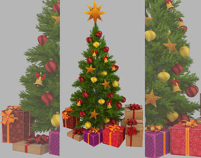 fir-tree conifer 3D model