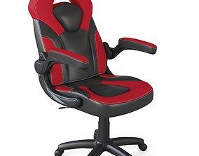 Gaming Chair X10 Racing Ergonomic Computer 3D model 1