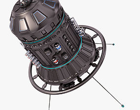3D model Sci Fi Satellite 06