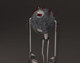 robot hay hay ready 3D model
