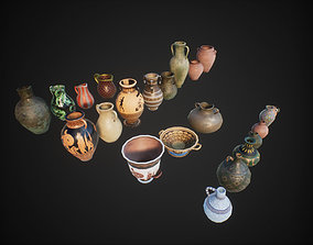 3D model Vases jars pitchers amphoras