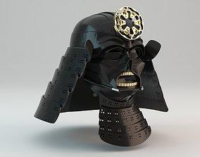 Samurai Darth Vader Helmet 3D print model