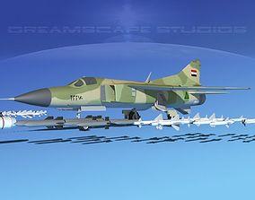 Mig 23 Flogger B V22 Iraq 3D model