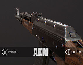 3D asset game-ready PBR AKM