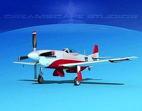 3D model P-51 Mustang Sport V02