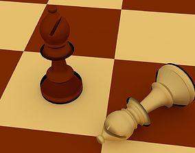 3D Chess Bishop