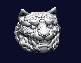 3D printable model Tiger Head Ornamental