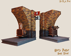 Harry Potter Book Stand 3D print model