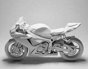 Suzuki GSXR750 3D asset