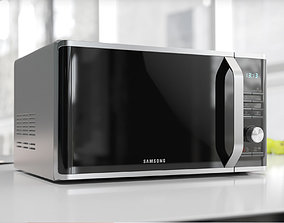 3D Glass front microwave