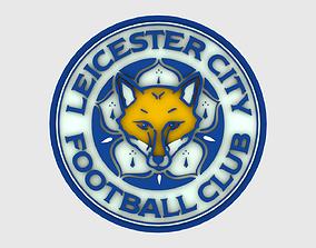 Leicester Logo 3D model