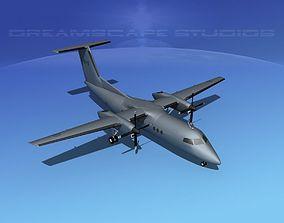 3D Dehaviland DHC-8 100 RCAF