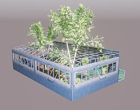 Greenhouse 3D asset