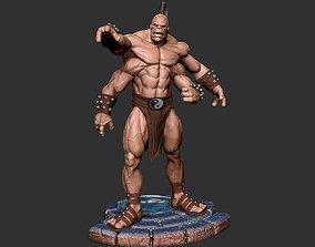 Goro STL 3D printable model