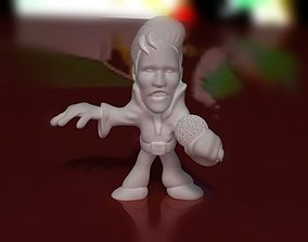 3D print model Elvis Figurine