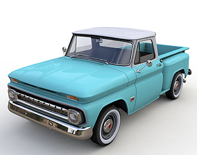 CHEVY C10 V8 PICKUP 1966 3D